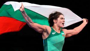 Тайбе спечели четвърти олимпийски медал за женската борба